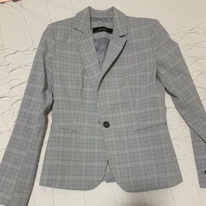 Zara checkered blazer